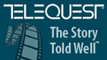 Telequest logo - The Story Told Well